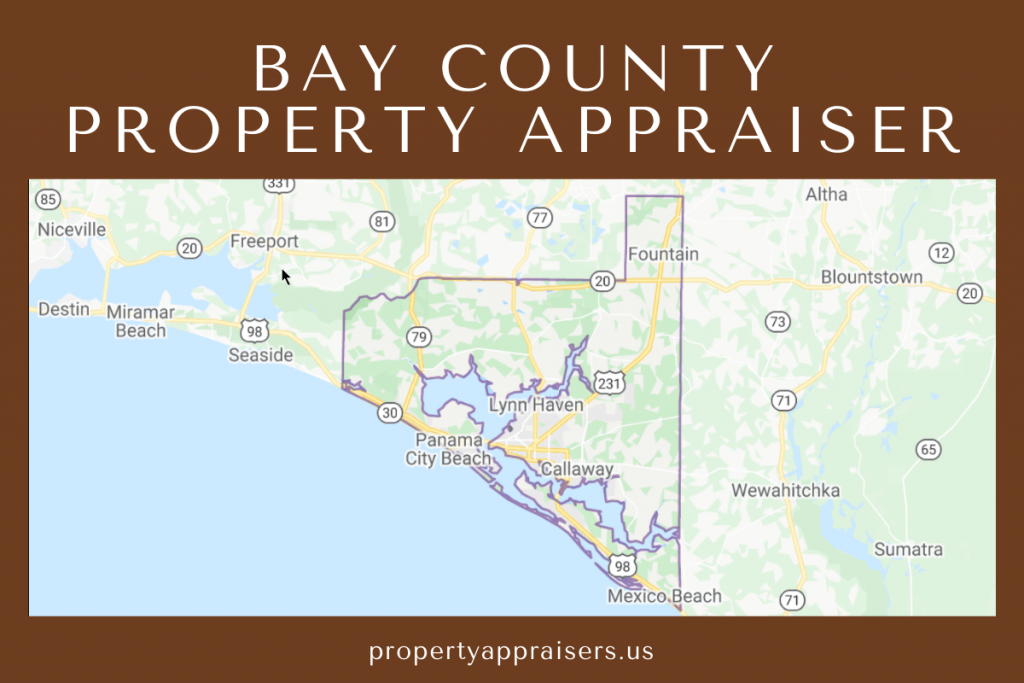 bay county property appraiser map location