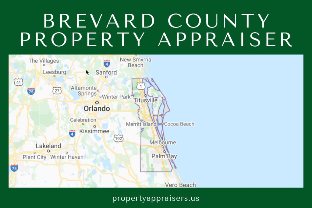 brevard county pa map location