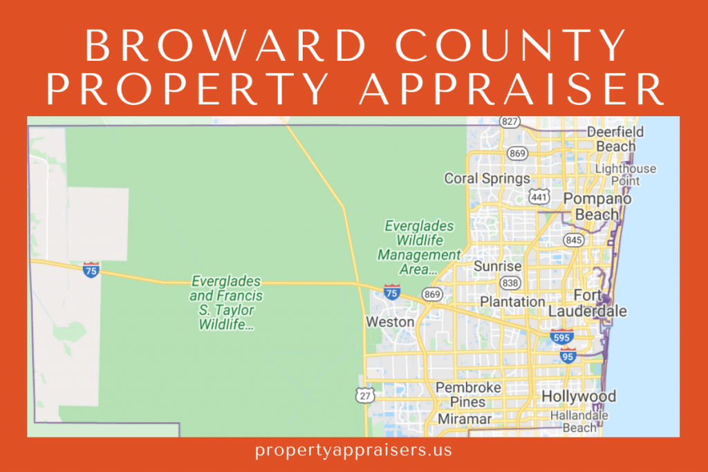 broward county pA map location