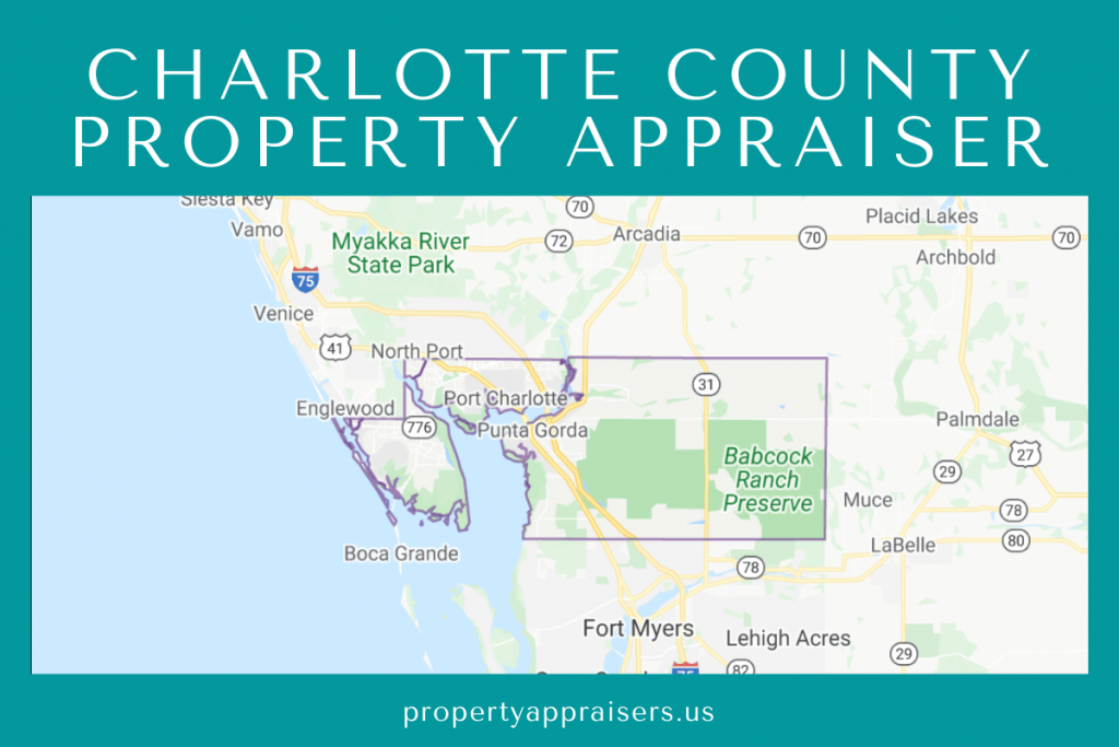 charlotte county property appraiser map location