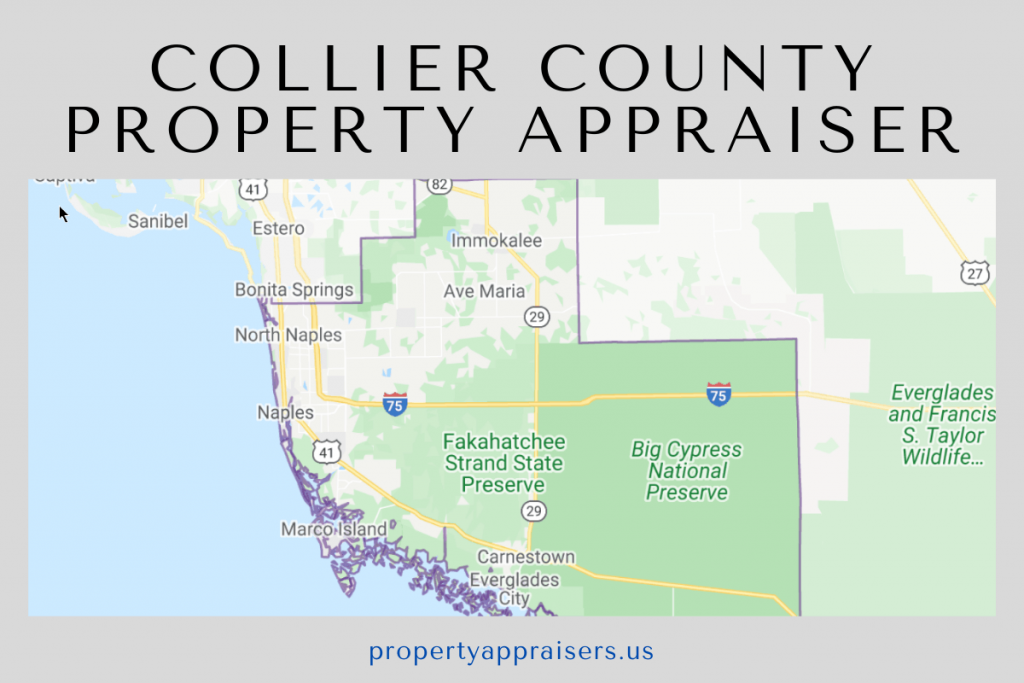 collier county property appraiser map location