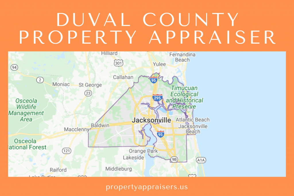duval county property appraiser map location