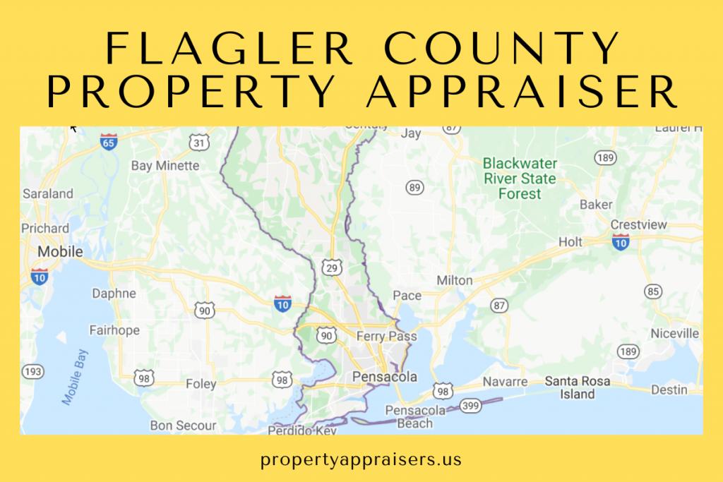 flagler county property appraiser map location