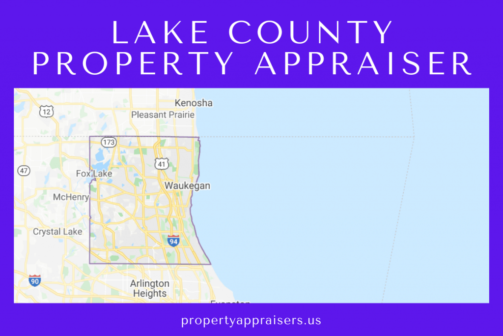 lake county property appraiser map location