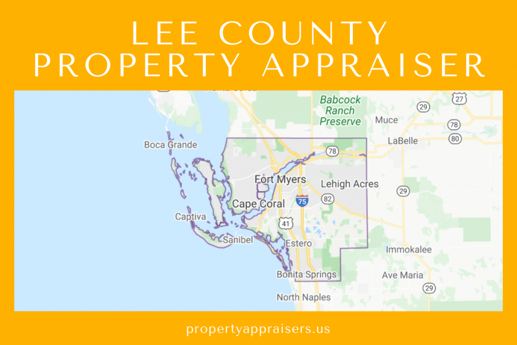 lee county property appraiser map location