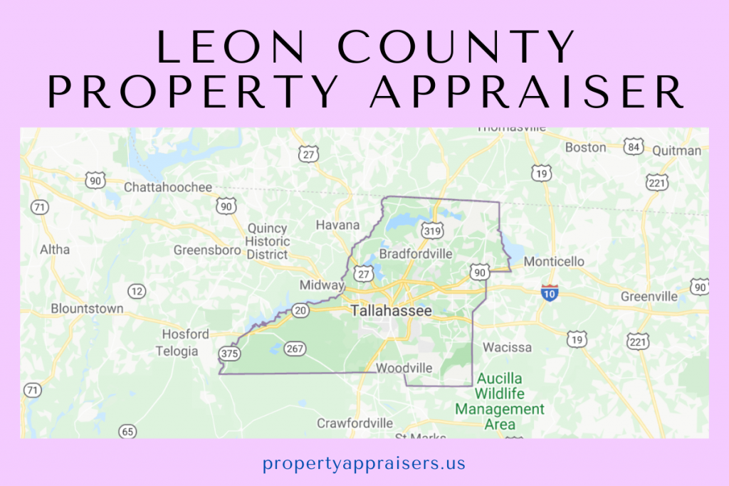leon county property appraiser map location