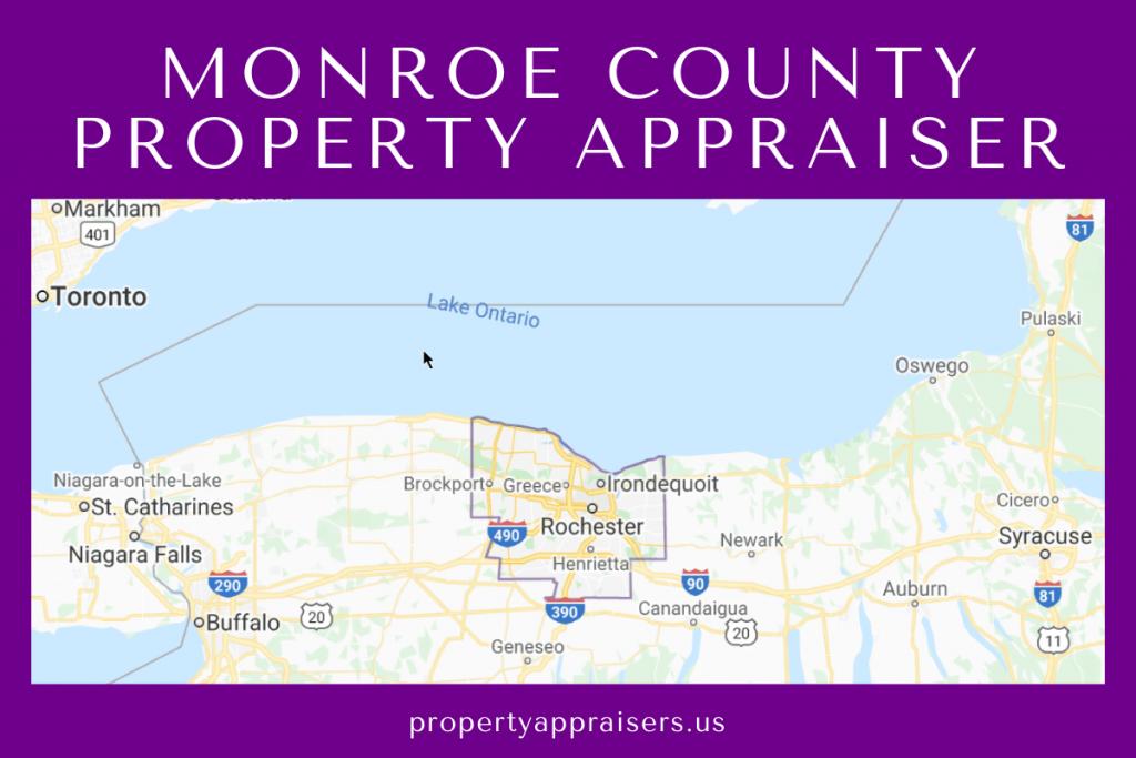 monroe county pa map location