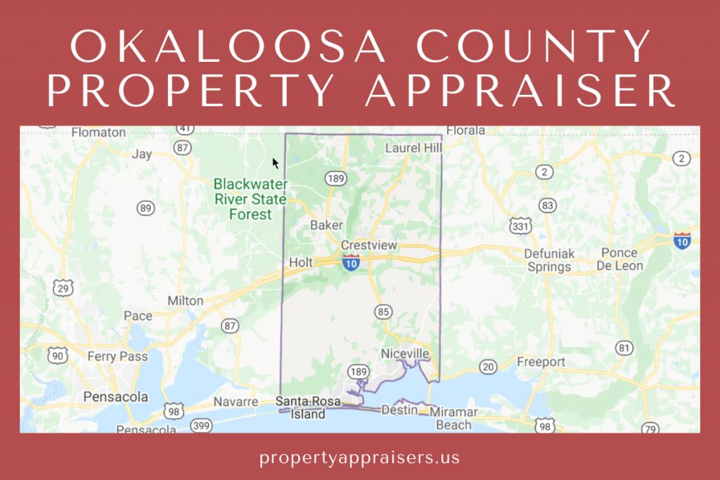 okaloosa county property appraiser map location