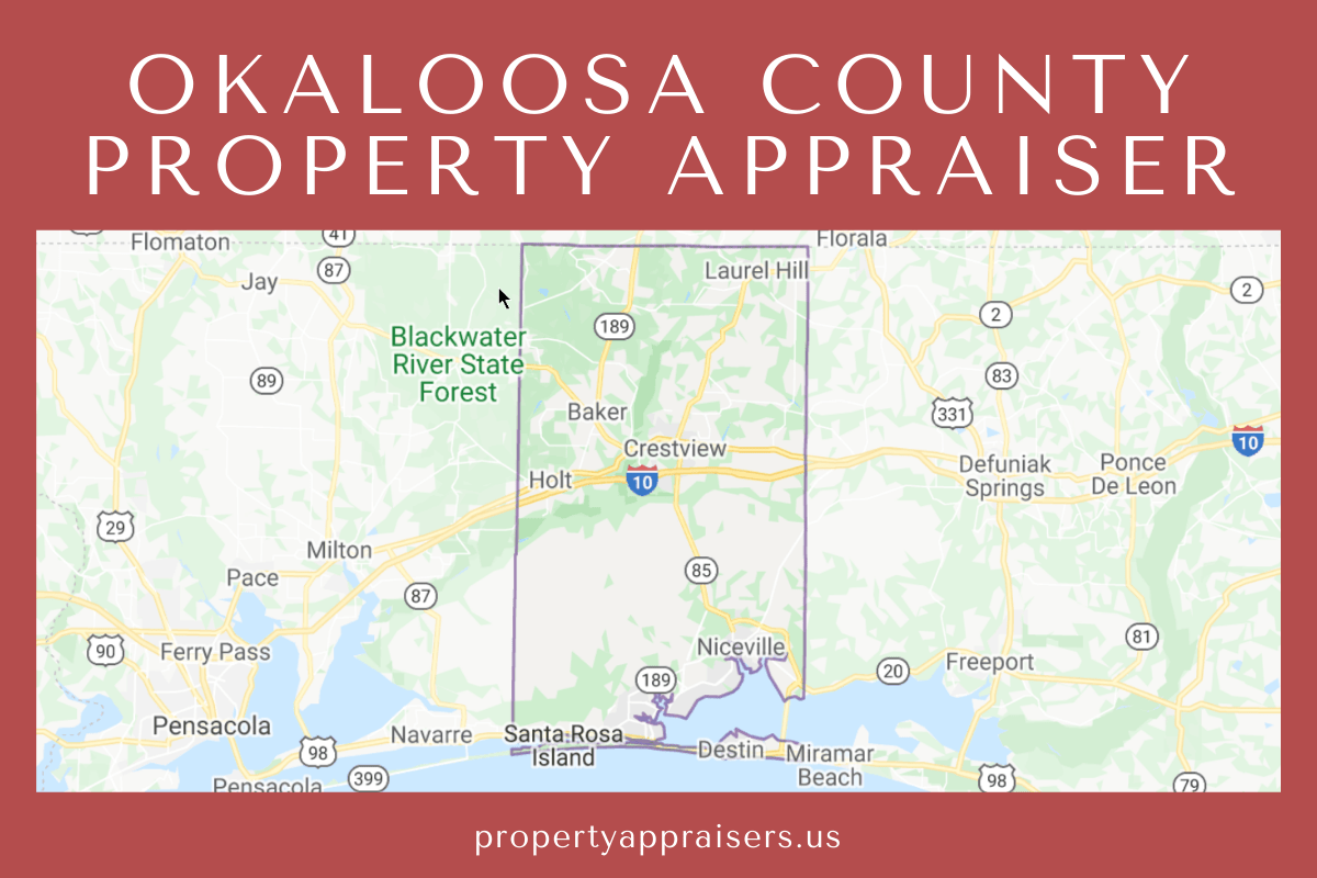 okaloosa county property appraiser map location