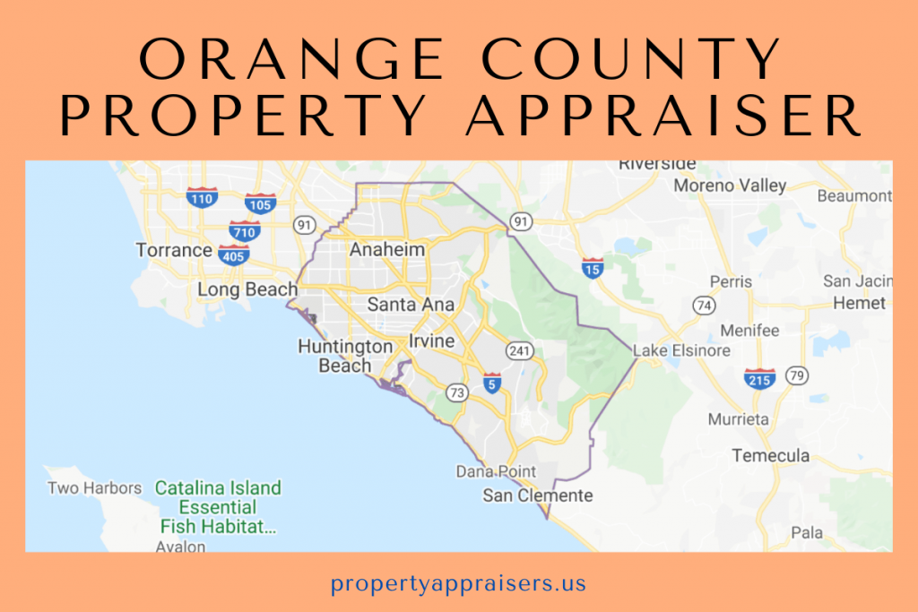orange county property appraiser map location