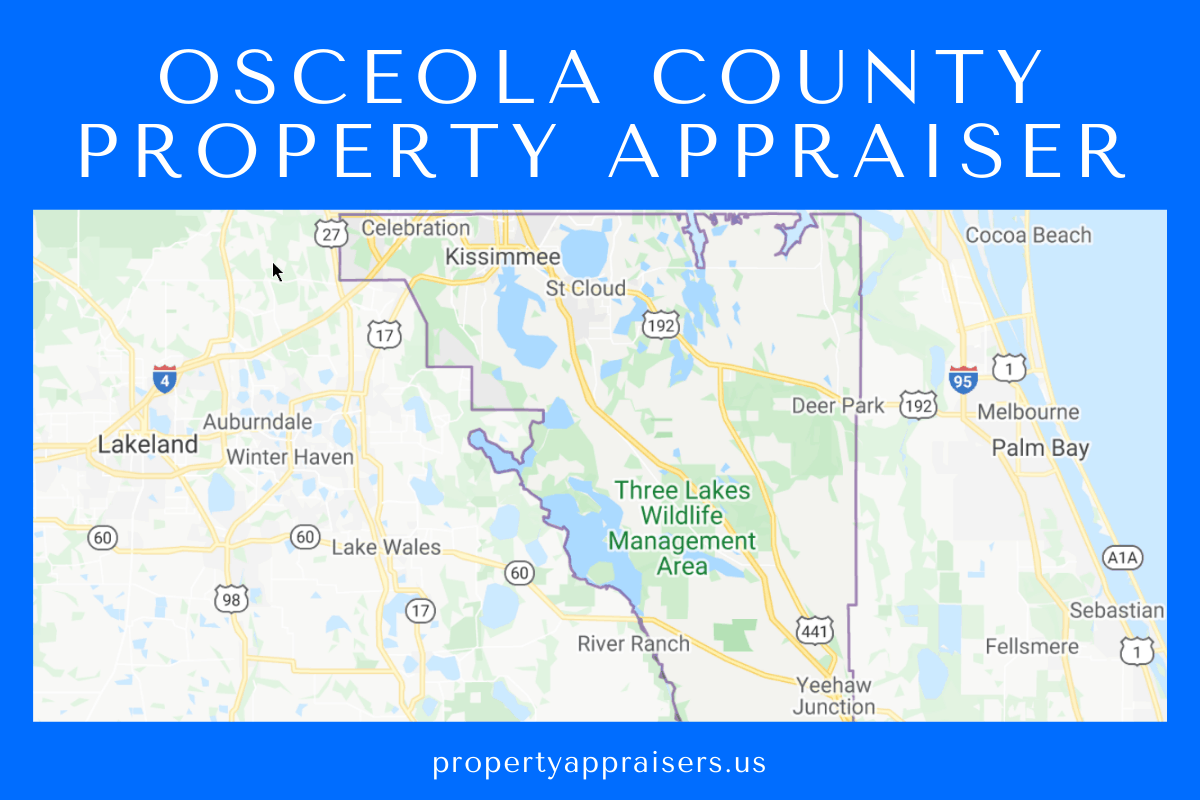 Property Appraiser map location