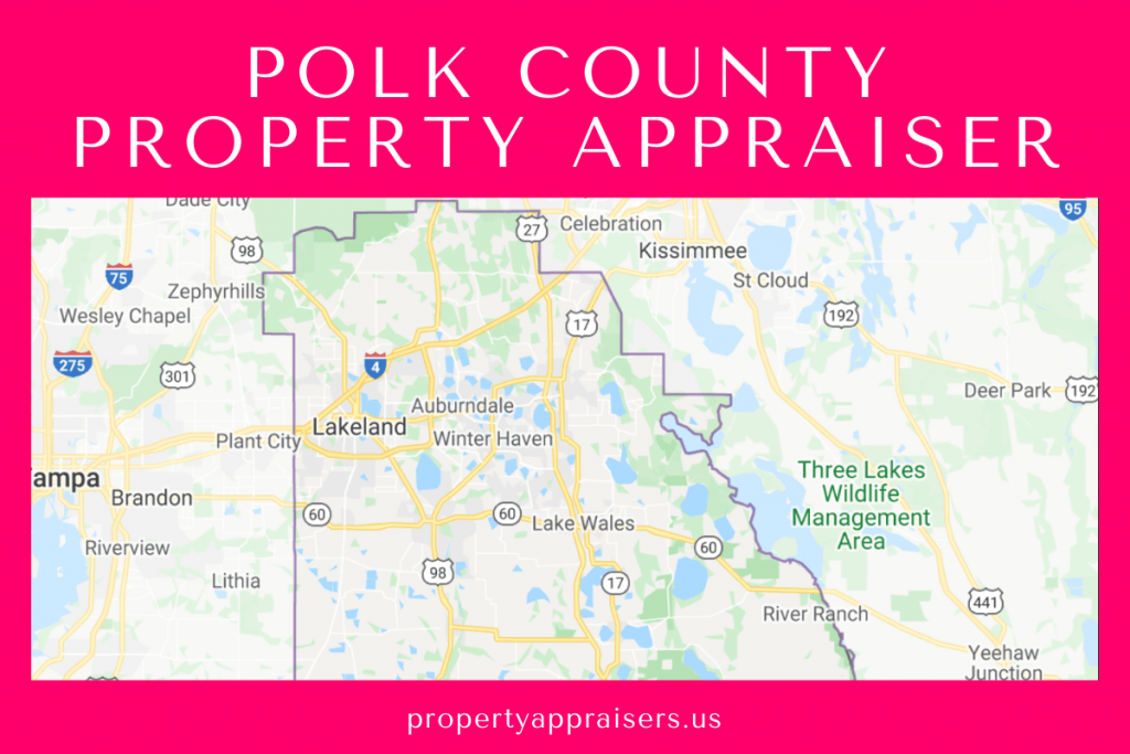 polk county property appraiser map location