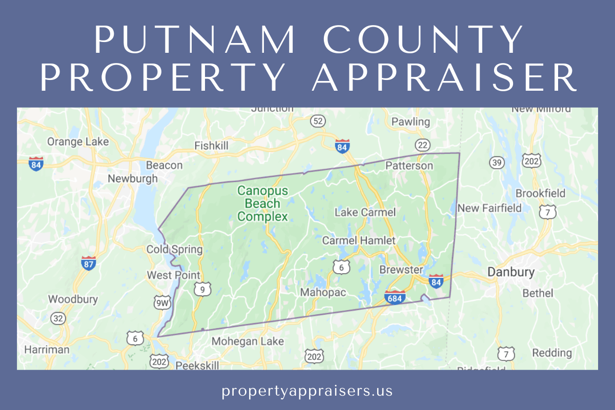putnam county property appraiser map location