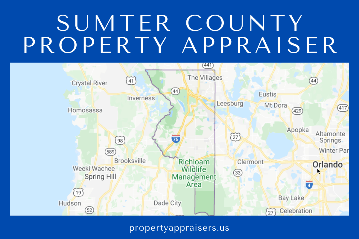 sumter county property appraiser map location