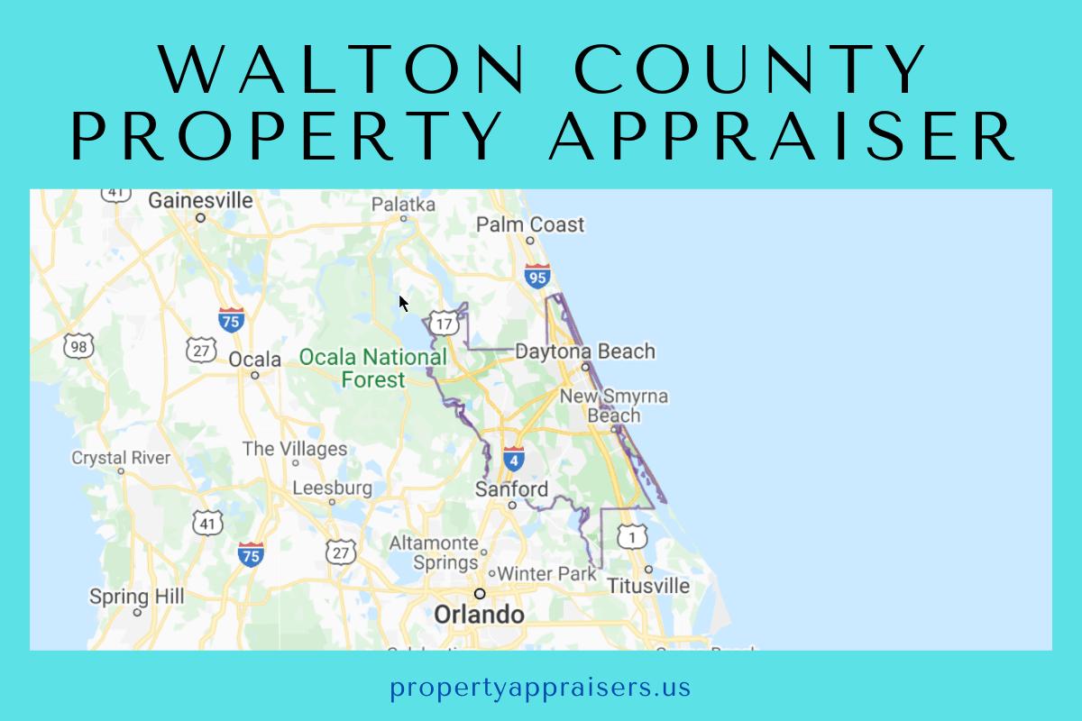 walton county property appraiser map location