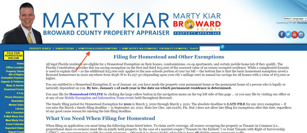 broward county property appraiser menu2