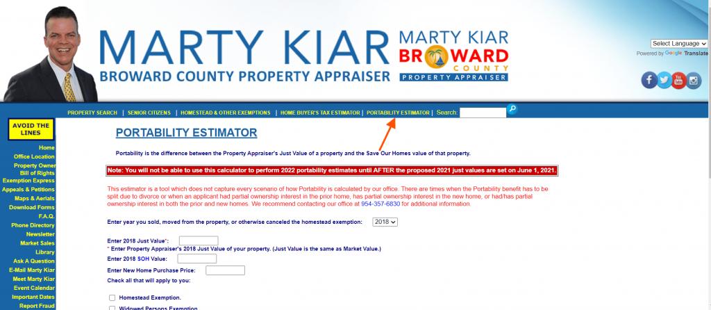 broward county property appraiser menu4