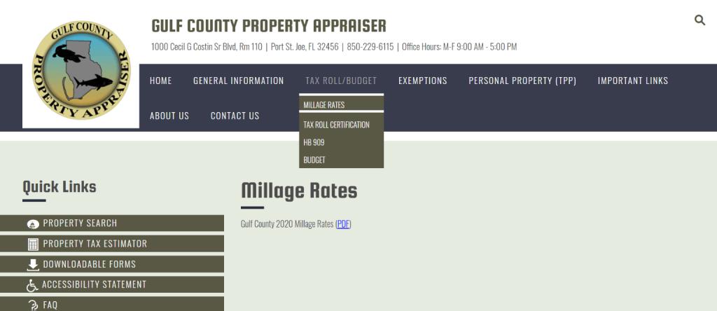 gulf county property appraiser3