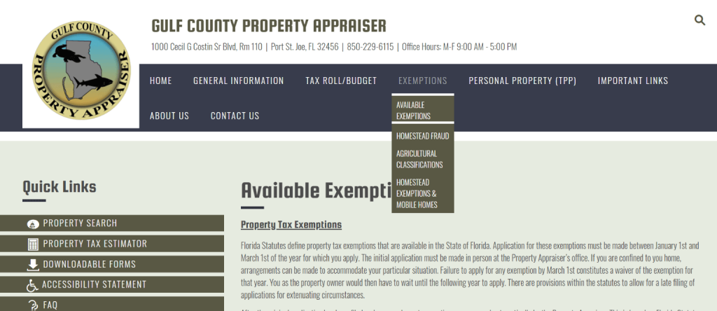 gulf county property appraiser4