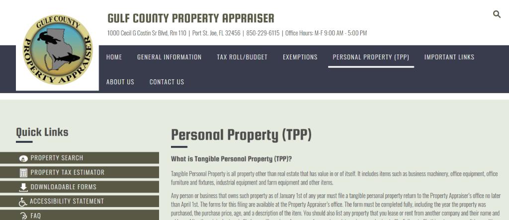 gulf county property appraiser5