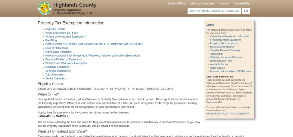 highlands county property appraiser1