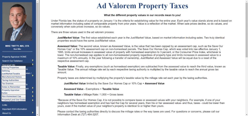 pinellas county property appraiser1