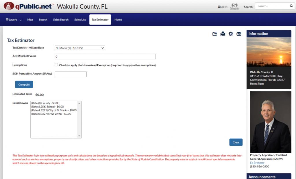 wakulla county property appraiser1