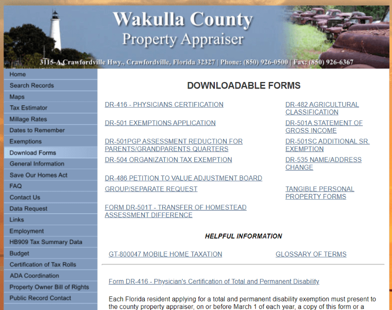 wakulla county property appraiser4